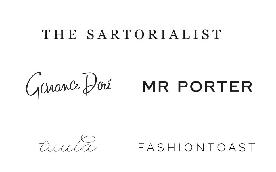 ファッションブログのロゴデザイン