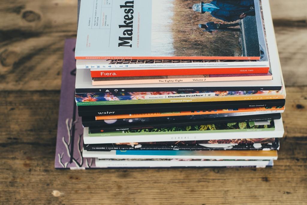雑誌はデザインテクニックの宝庫