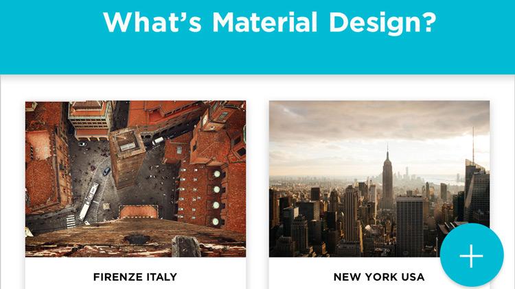 マテリアルデザインとは何か?- 最新Webデザイントレンド