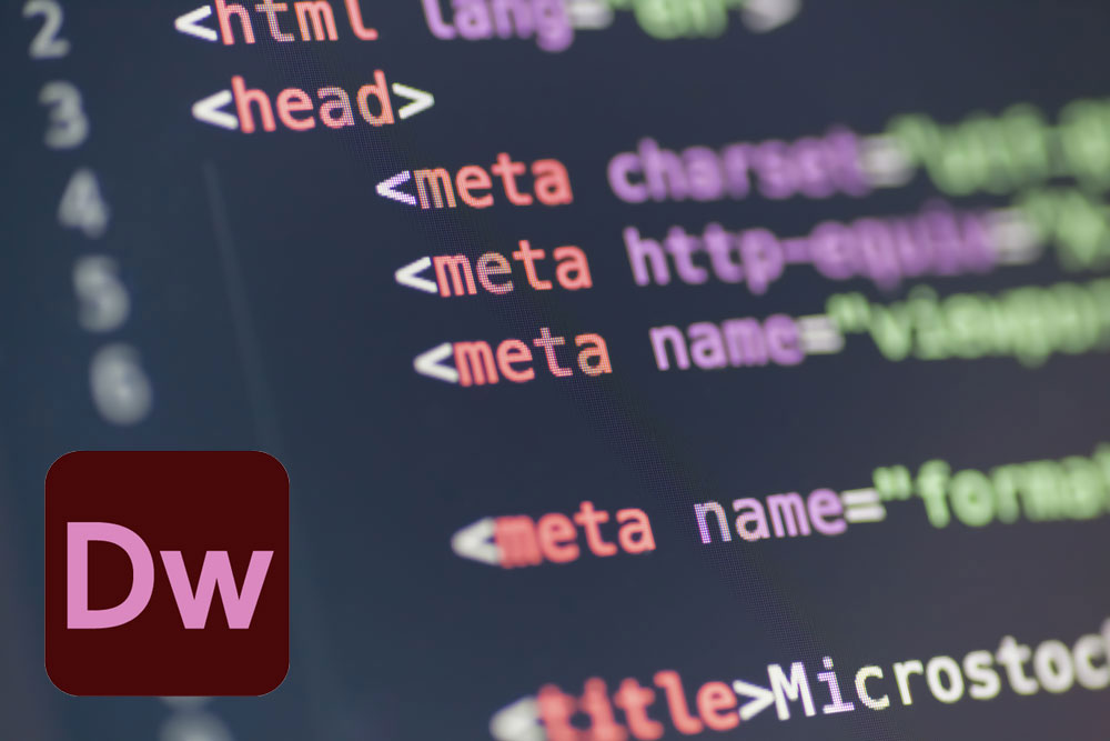 Dreamweaverを使ってHTML5+CSS3でコーディング