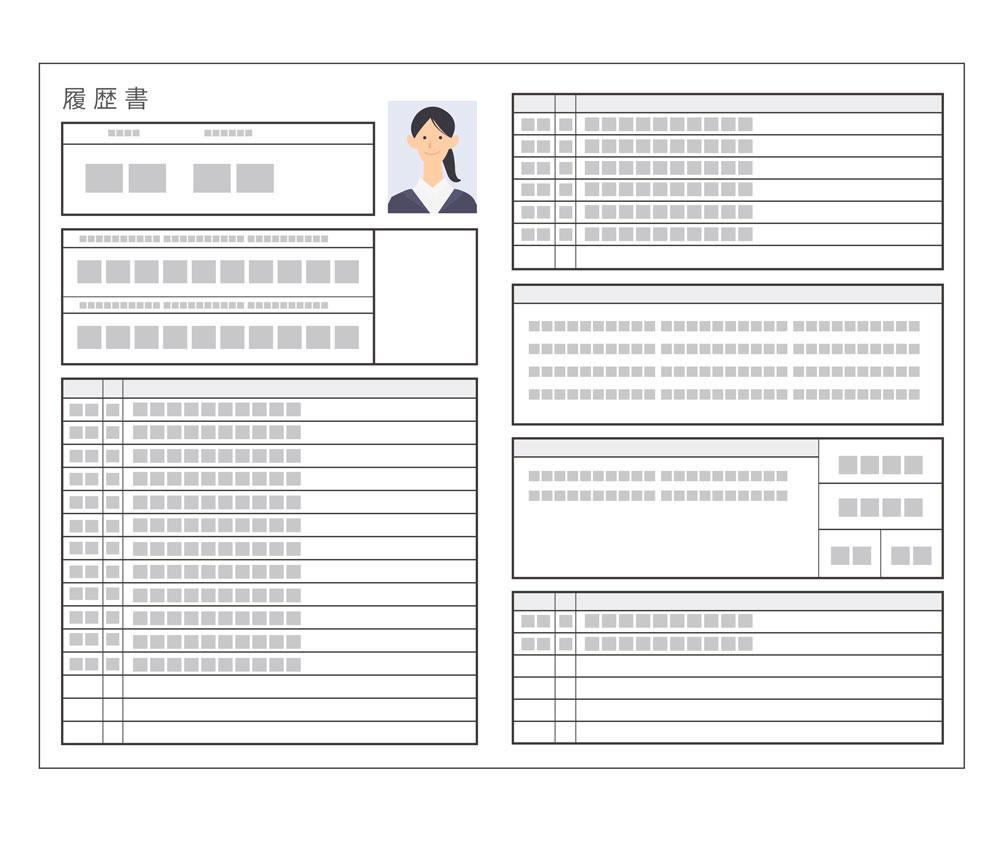 【約14日間】希望条件の会社のリストアップと応募、面接に必要な履歴書・職務経歴書の準備期間
